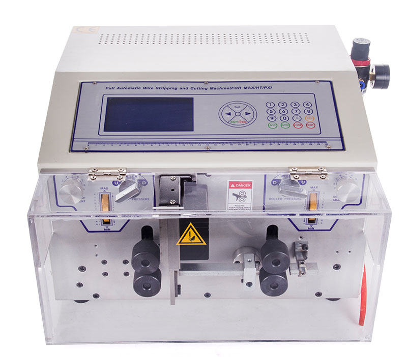 Automatic flat cable stripper and cutter machine WPM-09BHT
